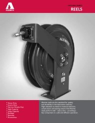 Alemite reels are the standard for quality and ... - B & K Supply, Inc.