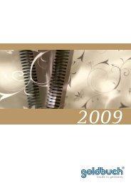 GOLDBUCH Katalog für das Jahr 2009 - Fotoalbum Shop