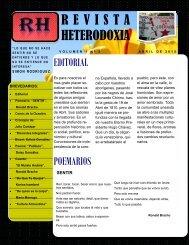REVISTA HETERODOXIA V. 1, Nº 2