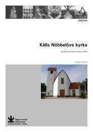 Källs Nöbbelövs kyrka - Regionmuseet Kristianstad