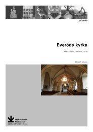 Everöds kyrka - Regionmuseet Kristianstad
