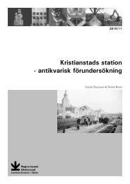 Kristianstads station - Regionmuseet Kristianstad