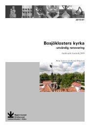 Bosjöklosters kyrka - Regionmuseet Kristianstad