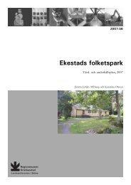 Ekestads folketspark - Regionmuseet Kristianstad