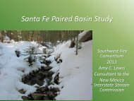Paired Basin Investigation - Southwest Fire Science Consortium