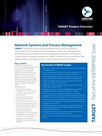 TA R G E T - Part of the ENTERPRISE Suite - Airconnect-e.com