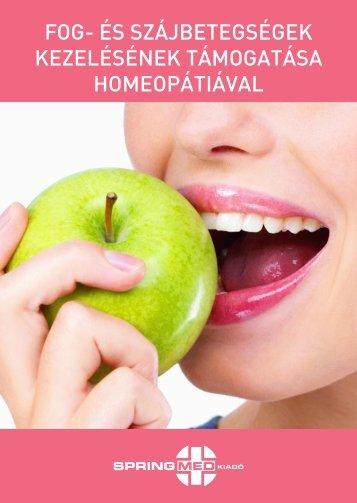 Fog- és szájbetegségek kezelésének támogatása ... - homeopátia.info