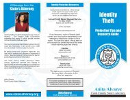 Identity Theft - Cook County State's Attorney