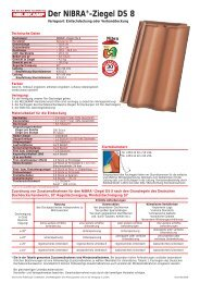 Der NIBRA®-Ziegel DS 8 - Nelskamp