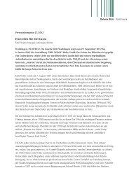 Ein Leben für die Kunst - Galerie Stihl Waiblingen