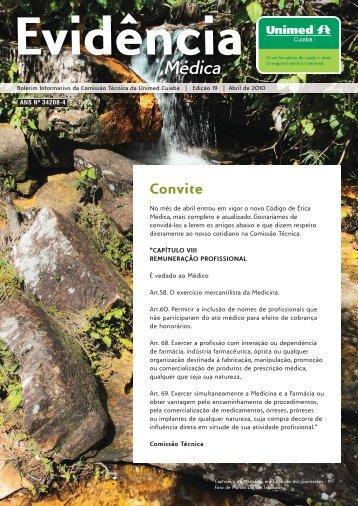 Convite - Unimed Cuiabá