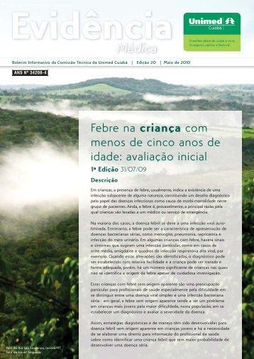avaliação inicial - Unimed Cuiabá