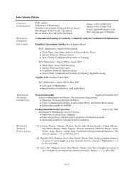 Curriculum Vitae - PUC-Rio
