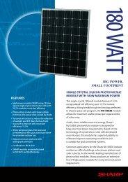 NUS0E3E Brochure - Sharp Corporation of Australia