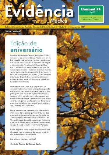 Edição de aniversário - Unimed Cuiabá