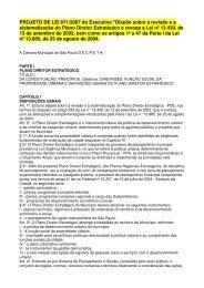 PROJETO DE LEI 671/2007 do Executivo