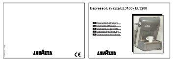 Espresso Lavazza EL3100 - EL3200 - Liomatic
