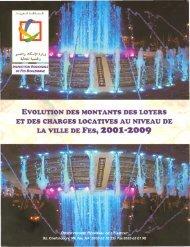SSL Fes 2001-2009.pdf - Ministère de l'Habitat, de l'urbanisme et de ...