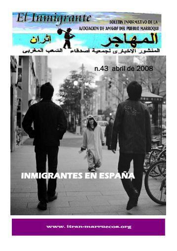 INMIGRANTES EN ESPAÑA - Itran