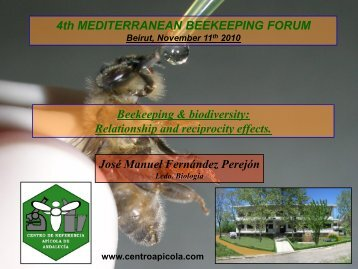 4th MEDITERRANEAN BEEKEEPING FORUM