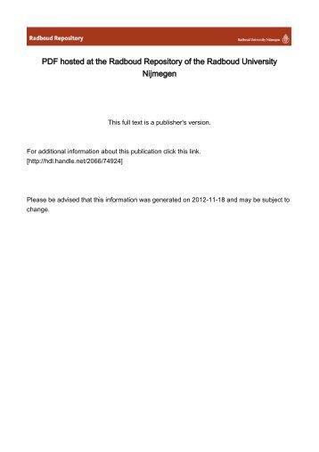 Full text - Radboud Universiteit