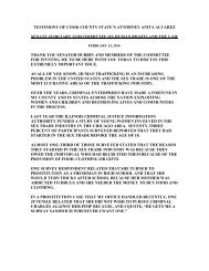 to Read the Testimony of State's Attorney Alvarez - Cook County ...