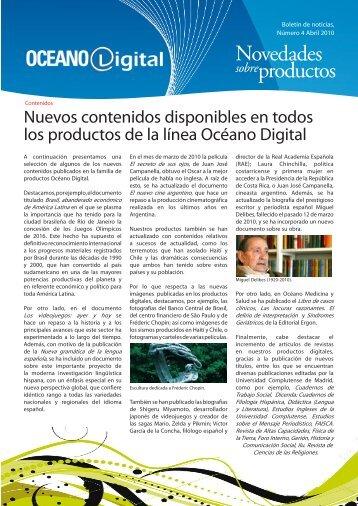 Número 4, Abril 2010 - Océano Digital