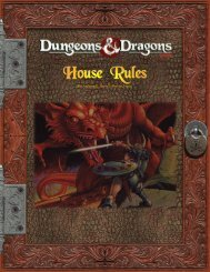 D&D House Rules - Darkonnia