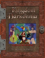 D&D Gazetteer: The Kingdom of Darkonnia