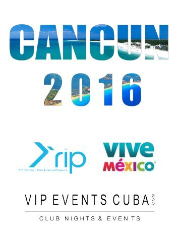 CANCUN OPTIONAL EXCURSIONS 2016  | Prices are indicative and may slightly vary at the time of booking |