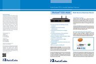 AudioCodes CPE & Access Gateway Products MediantTM ... - ADN