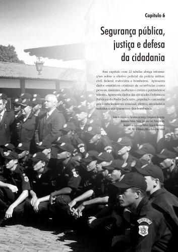 Anuário SEPLAN 2007 - Segurança Pública
