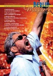 Titelseite der 19. Ausgabe - Das Berlinmagazin