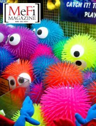 Volume 1 • Issue 1 • APR 2011 - MeFiMag