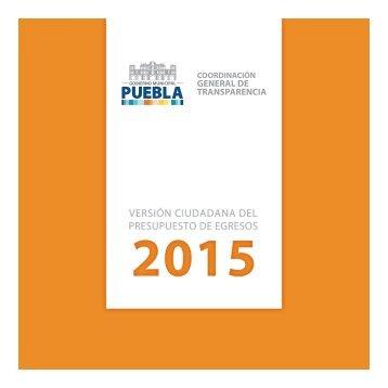 Versión Ciudadana del Presupuesto de Egresos 2015