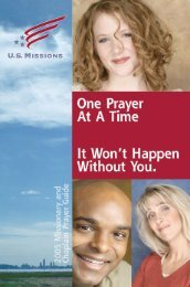 Additional copies of the 2005 Prayer Guide - Assemblies of God US ...