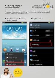 Samsung Android ng Android - cbb