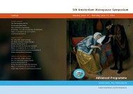 5th Amsterdam Menopause Symposium Advanced ... - Menopausa