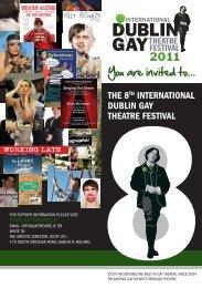 our invitation - Dublin Gay Theatre Festival