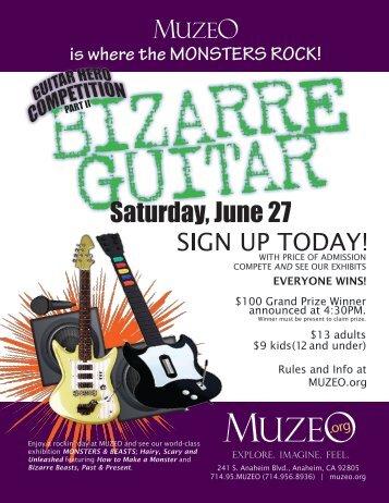 Bizarre Guitar - Muzeo