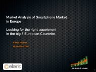 Market Analysis of Smartphone Market in Europe Looking for the ...