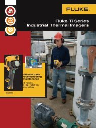 Fluke Ti Series Industrial Thermal Imagers - Getrotech