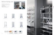 Modular shelving units - 1st Choice Office Furniture Ltd