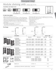 Shelving units - 1st Choice Office Furniture Ltd