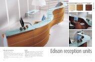 Edison reception - 1st Choice Office Furniture Ltd