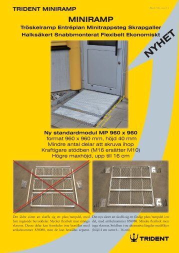 MINIRAMP - Trident Industri AB