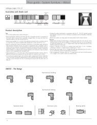 Price guide - System furniture - 4Most - 1st Choice Office Furniture Ltd