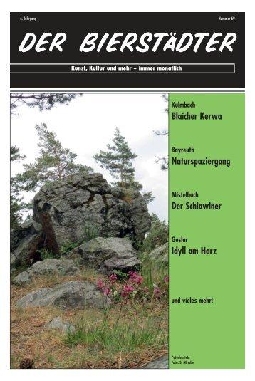 Blaicher Kerwa Naturspaziergang Der Schlawiner Idyll am Harz