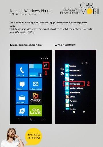 Nokia – Windows Phone - Mit Bibob