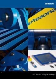 The Presona Baling Technology The Presona Baling ... - Presona AB